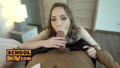 Naughty Lina Wants a Favor in Exchange for Her Tight Pussy Thumb