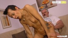 Naughty Horny Hot Wife Sabrina Rides Her Neighbour Thumb