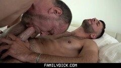 Secret Blow-job then fucked in every Hole! Thumb