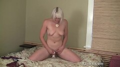 Tall Blonde Babe Getting Sucking and Fucking!! Thumb