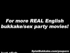English Pornstar Barbie Styles Bukkake Thumb