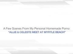 ALLIE & CELESTE MEET AT MYRTLE BEACH – CUNNINGLUS Thumb