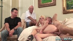 Horny Regina Ice in foursome and a sweet ass fuck session Thumb