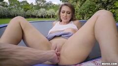 Big ass little titties rubbing that hot clit Thumb