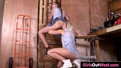 Horny hairy lesbians cunnilingus and rimjobs Thumb