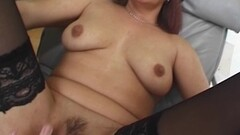 Blindfolded and Tied Mama Fucked With Facial Creaming Thumb