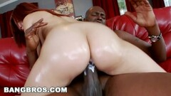 Sexy Leah Cortez Creams All Over Lex Steeles Monster Cock Thumb