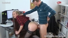 Horny amateur fucked in the ass Thumb